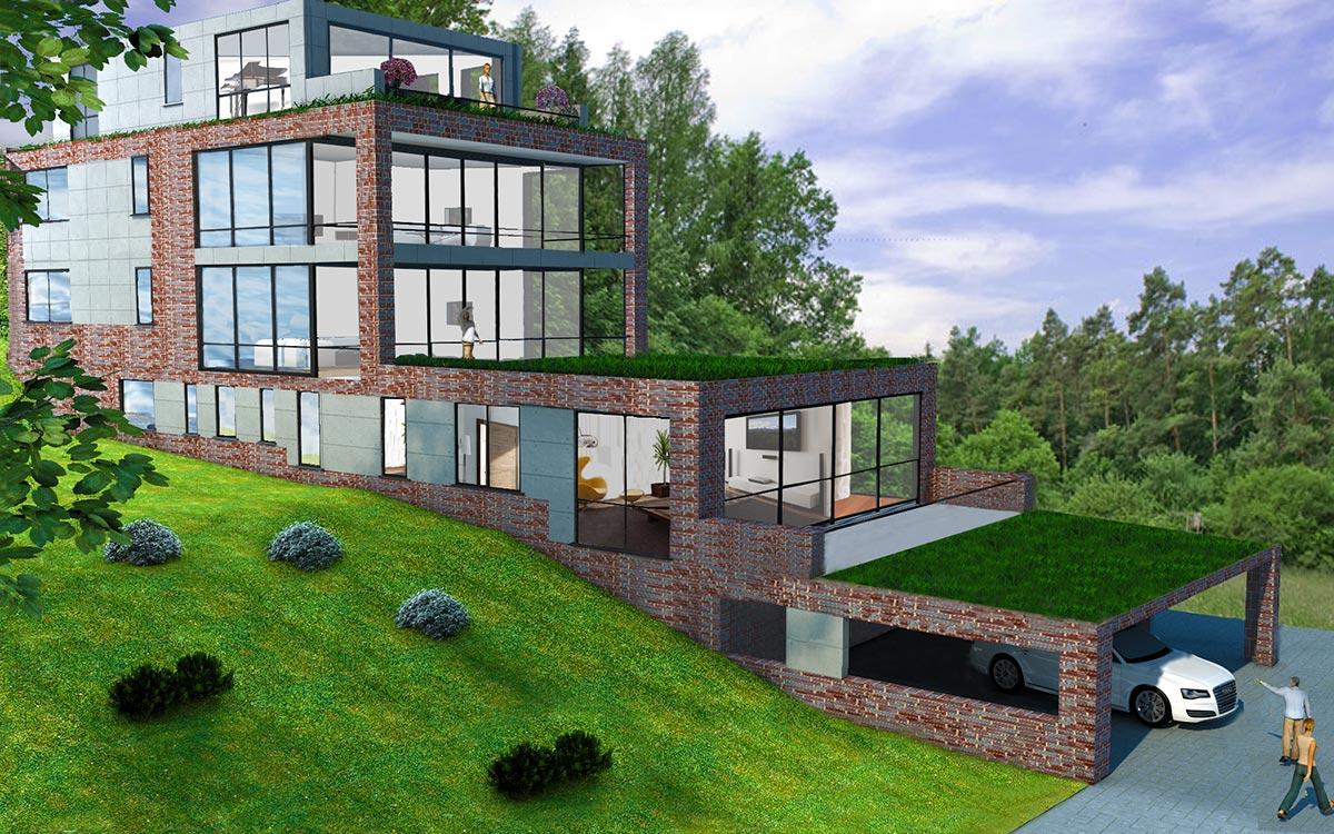 Mehrfamilienhaus neubau anton hopster for Mehrfamilienhaus neubau