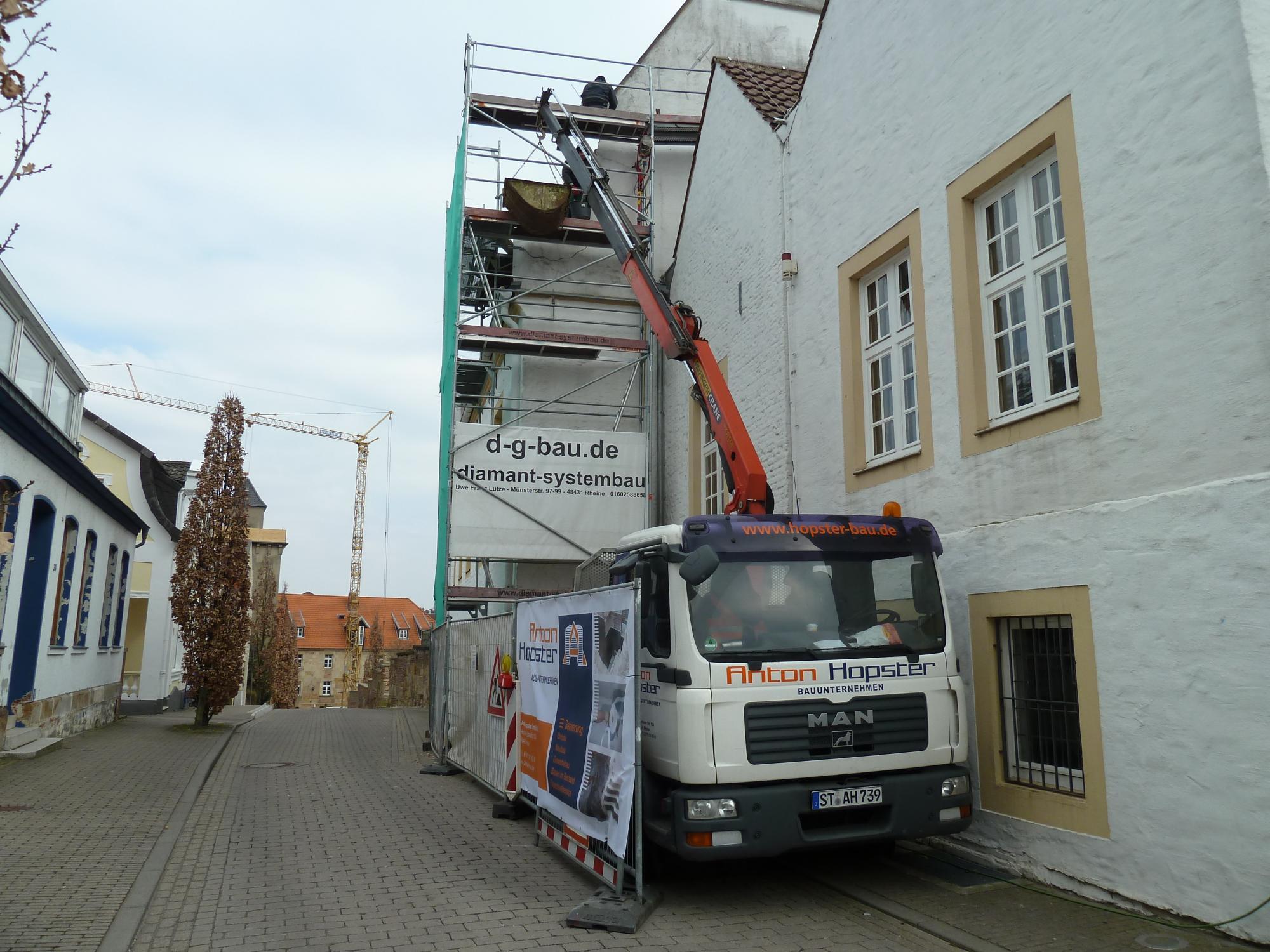 Bauunternehmen Rheine sanierung falkenhof rheine bauunternehmen hopster anton hopster