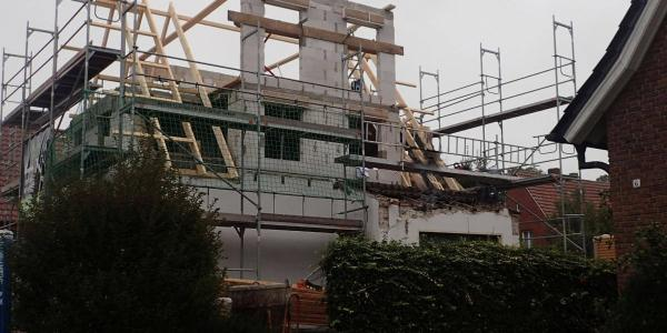 Umbau Einfamilienhaus - Anton Hopster Bauunternehmen